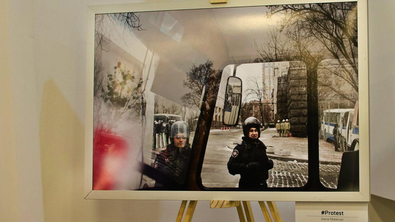 Expozitia Protest - Ioana Moldovan